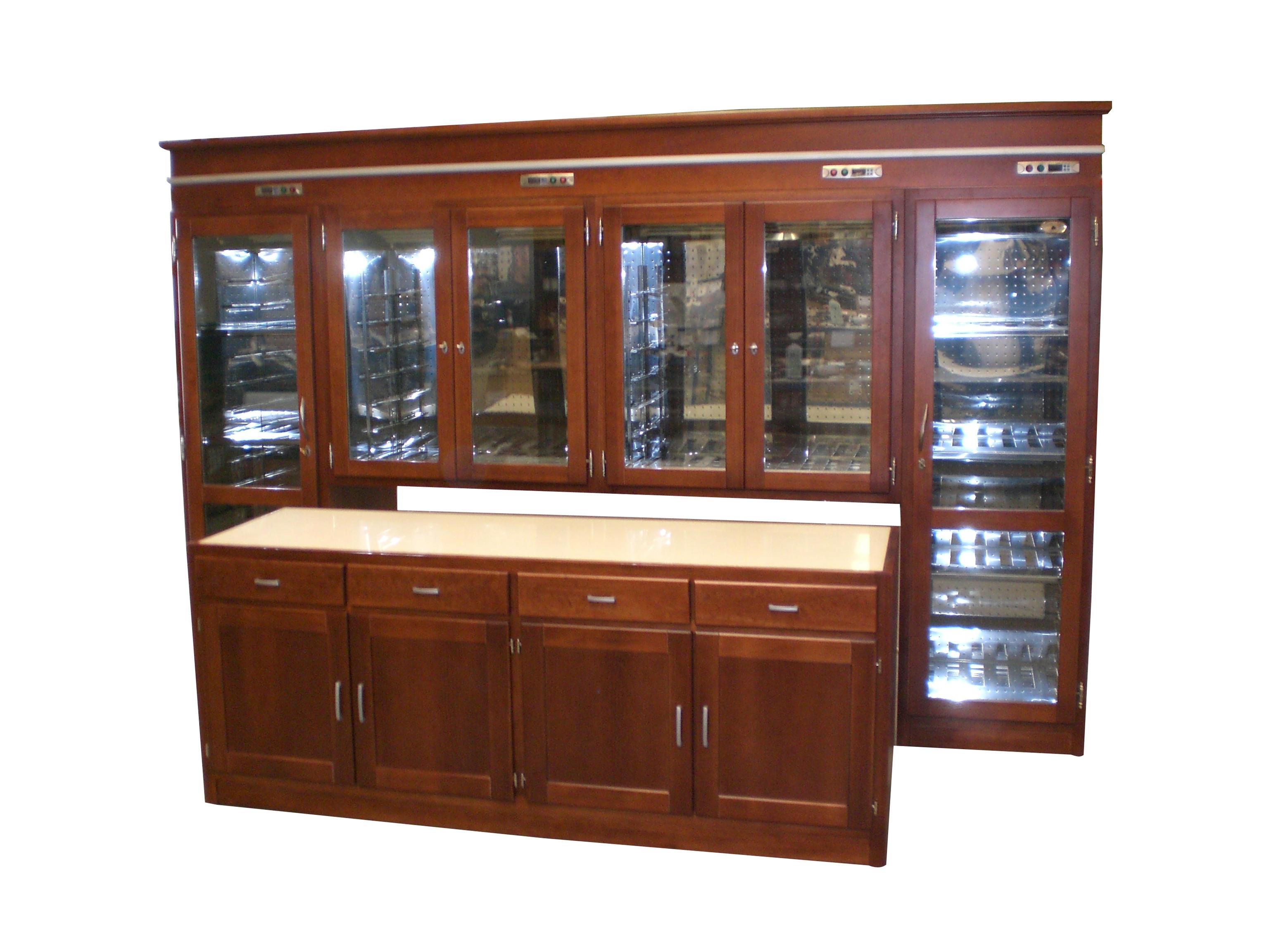 Custom made wine cooler cabinet