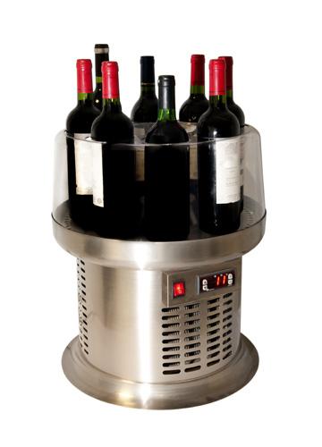 Vinoteca para 8 botellas