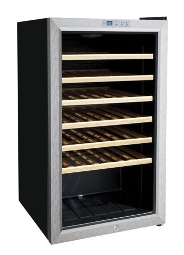 Vinoteca con capacidad para 33 botellas