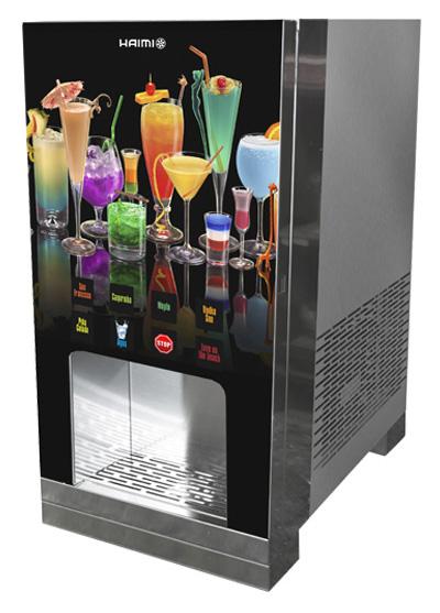 máquina dispensadora de zumos y bebidas