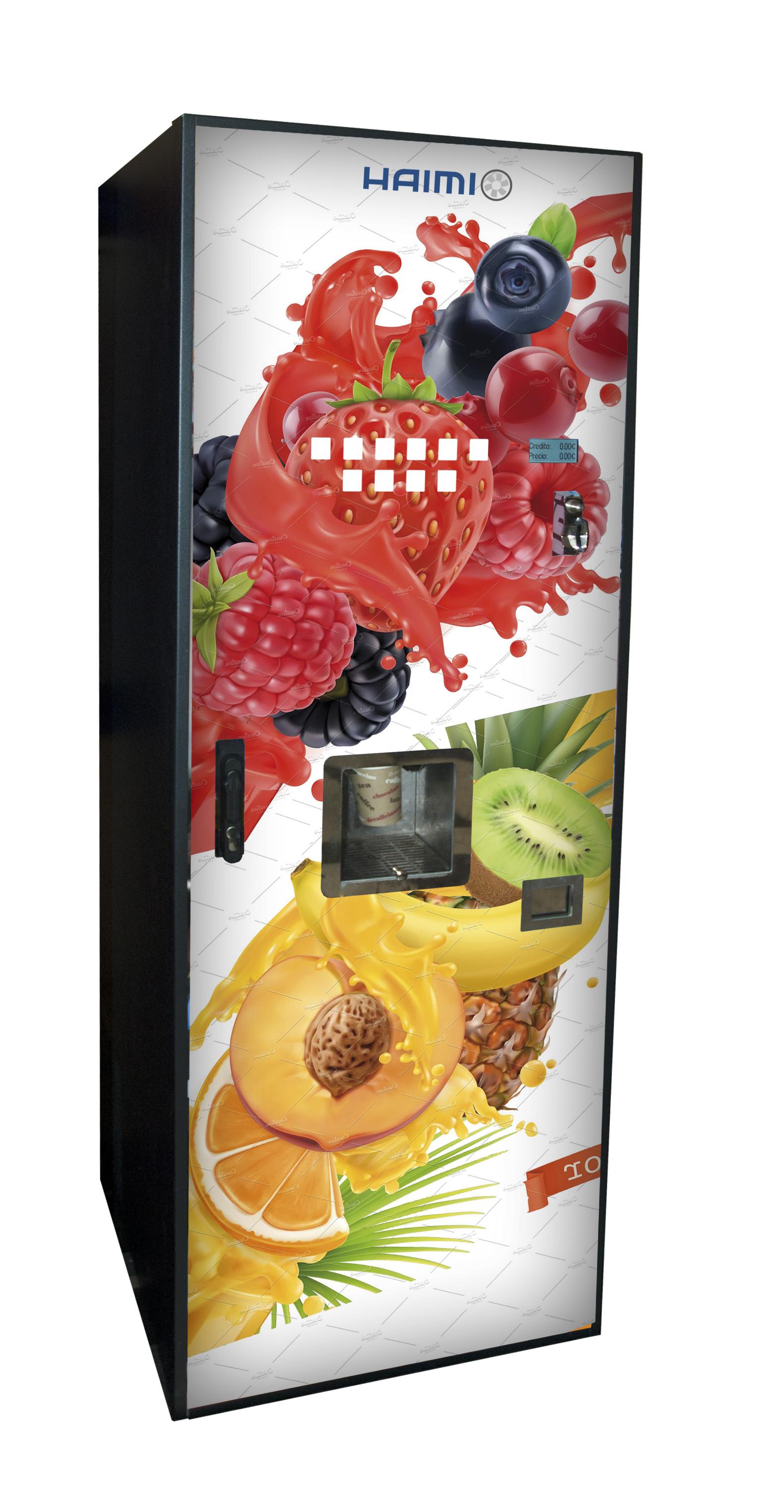 Post mix, juice vending machine and drinks dispenser