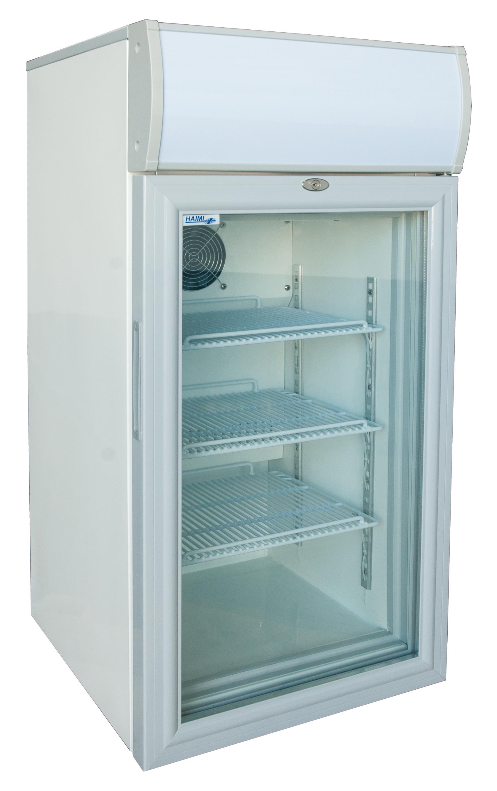 Camfri 80, display fridge with glass door