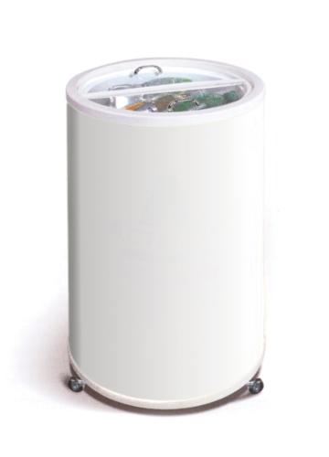 Barrel fridge and can fridge