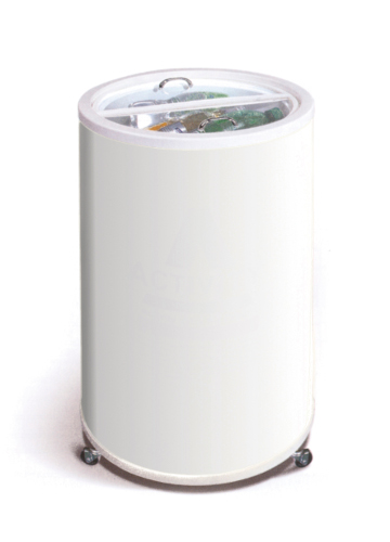 Round fridge CamFri Cubo