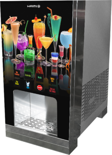 Drinks dispenser with post mix