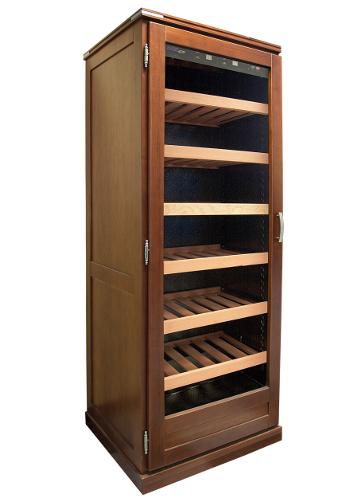 Wood wine cabinet modules