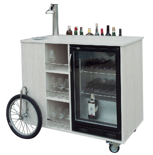 Mobile bar and portable bar