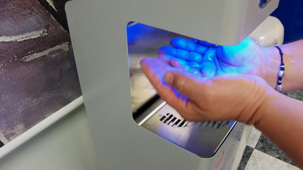 Nebulizador Desinfectante anti-virus para manos - HAIMI